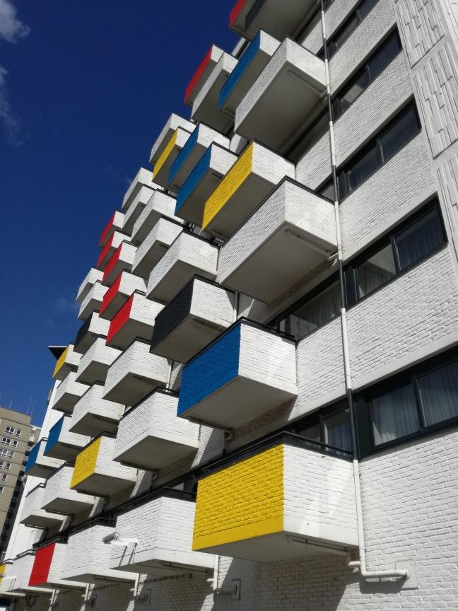 Mondriaan-colours, De Stijl, Scheveningen, Den Haag