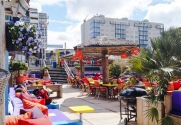 colourful resto and lounge bars