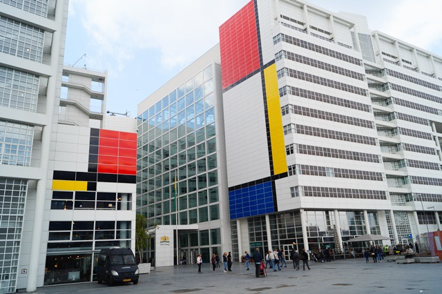 Mondrian pimped city Hall