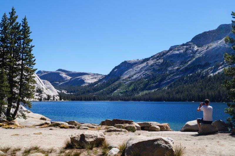 Tenaya Lake, Tioga road, Yosemite NP