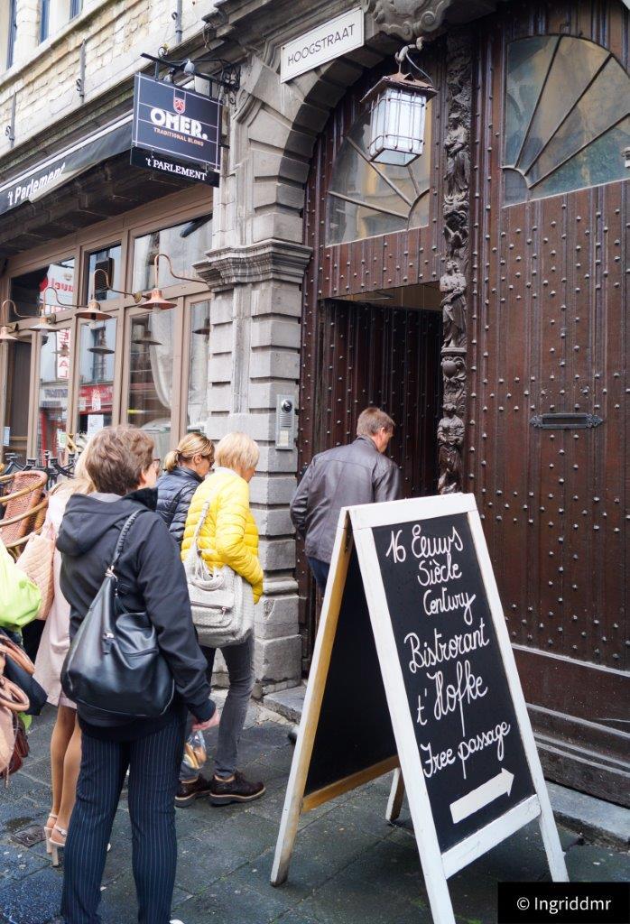 Vlaeykensgang Hoogstraat Antwerp
