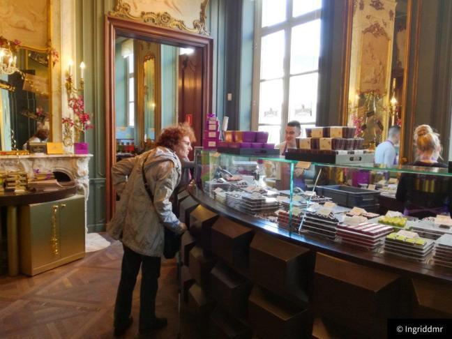 The Chocolate Line shop Antwerp
