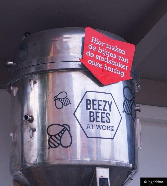 city brewery, beer tank, honey