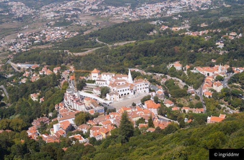 Sintra Portugal Moors castle