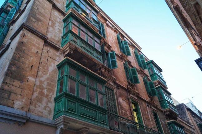 Valletta Malta balconies