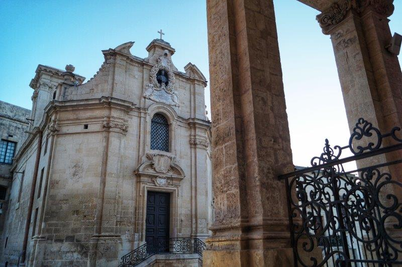 Lady of Victories chapel Valletta Malta