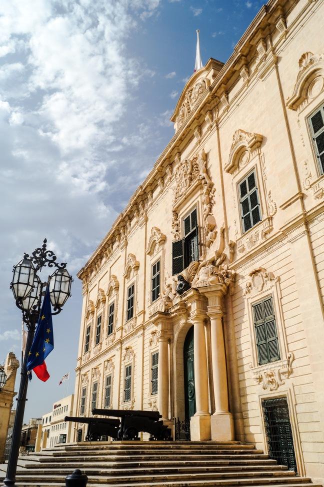 Valletta Malta Auberge de Castille