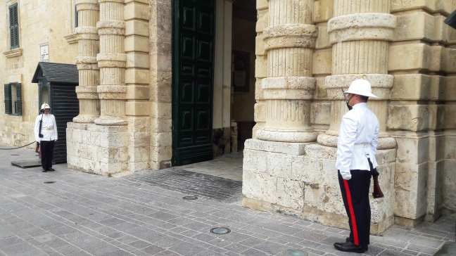 guards at Grandmaster's Palace