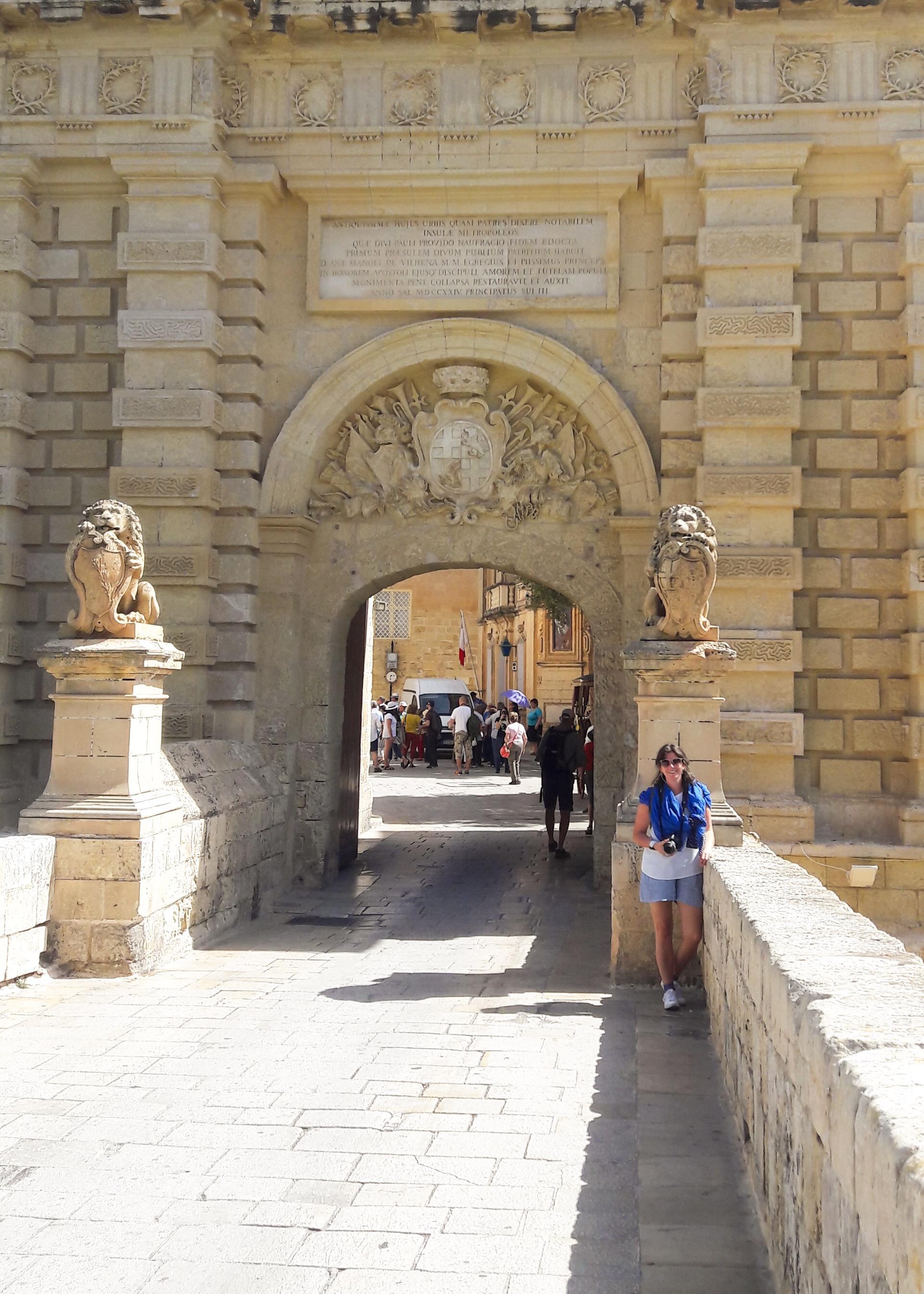 Mdina Malta city Gate
