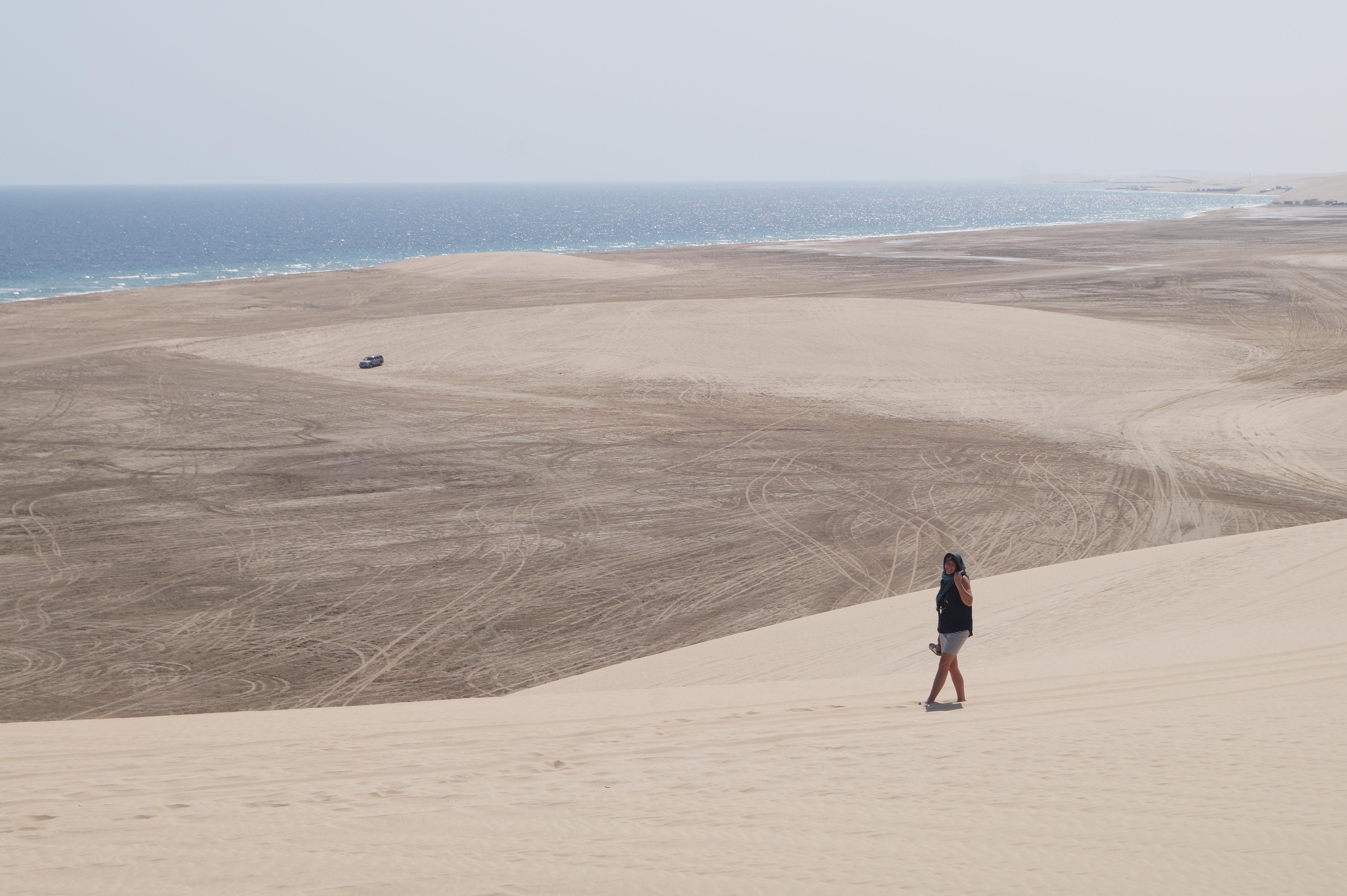 sand dunes Sealine Beach (Mesaieed)