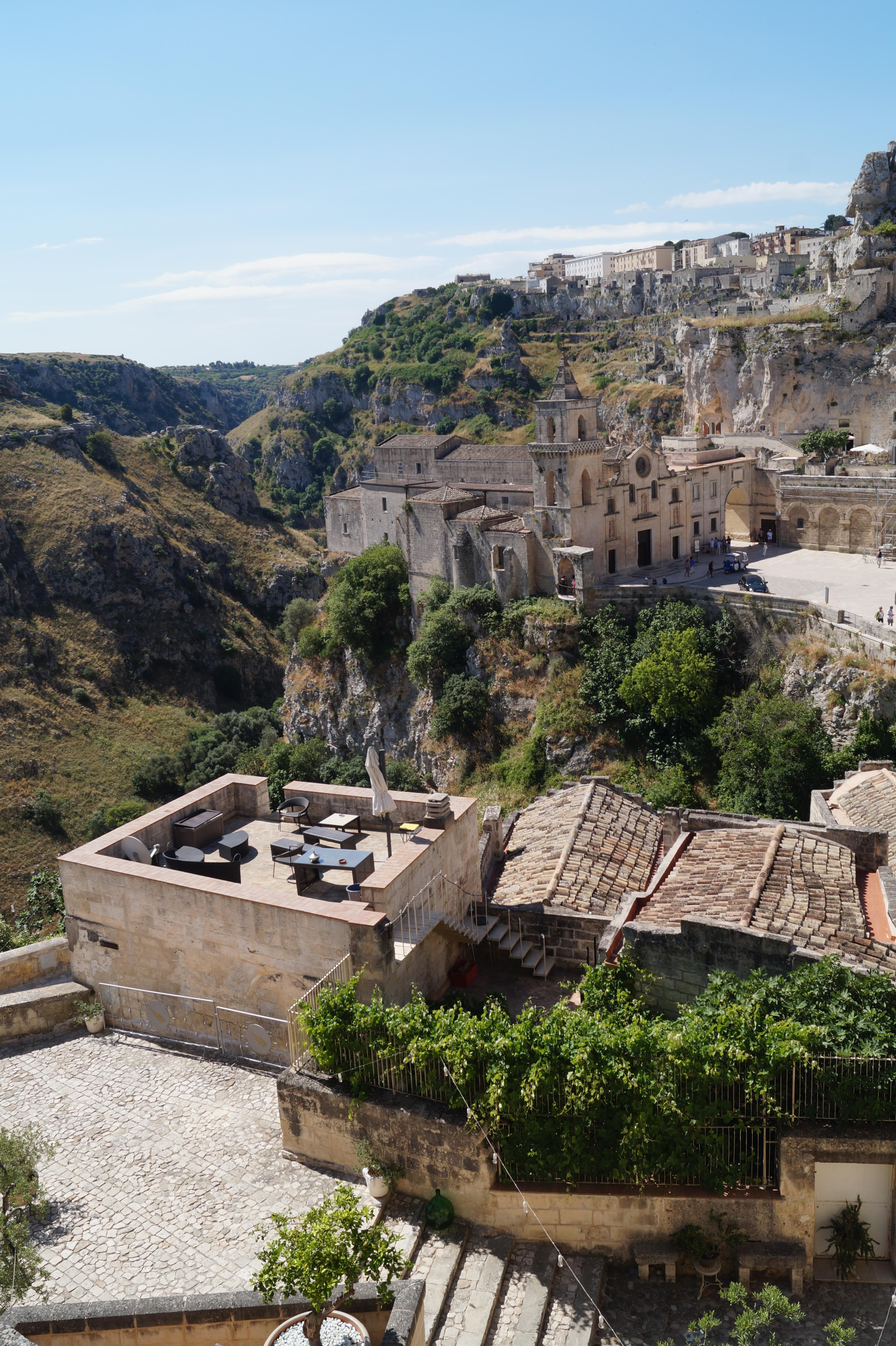 Matera Basilicata Italy sassi