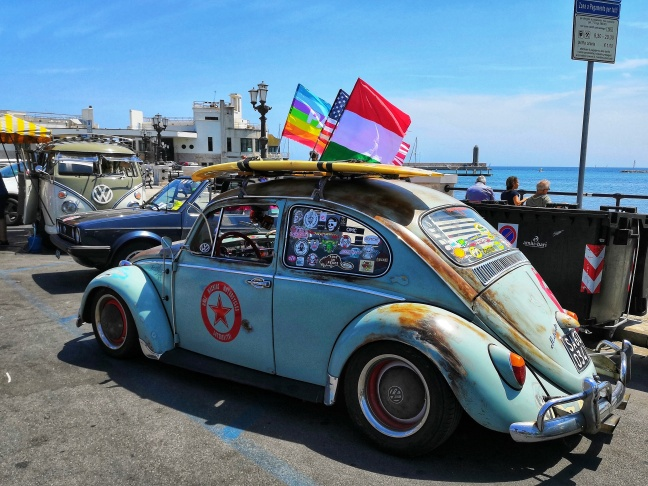 Volkswagen Beetle meeting Bari