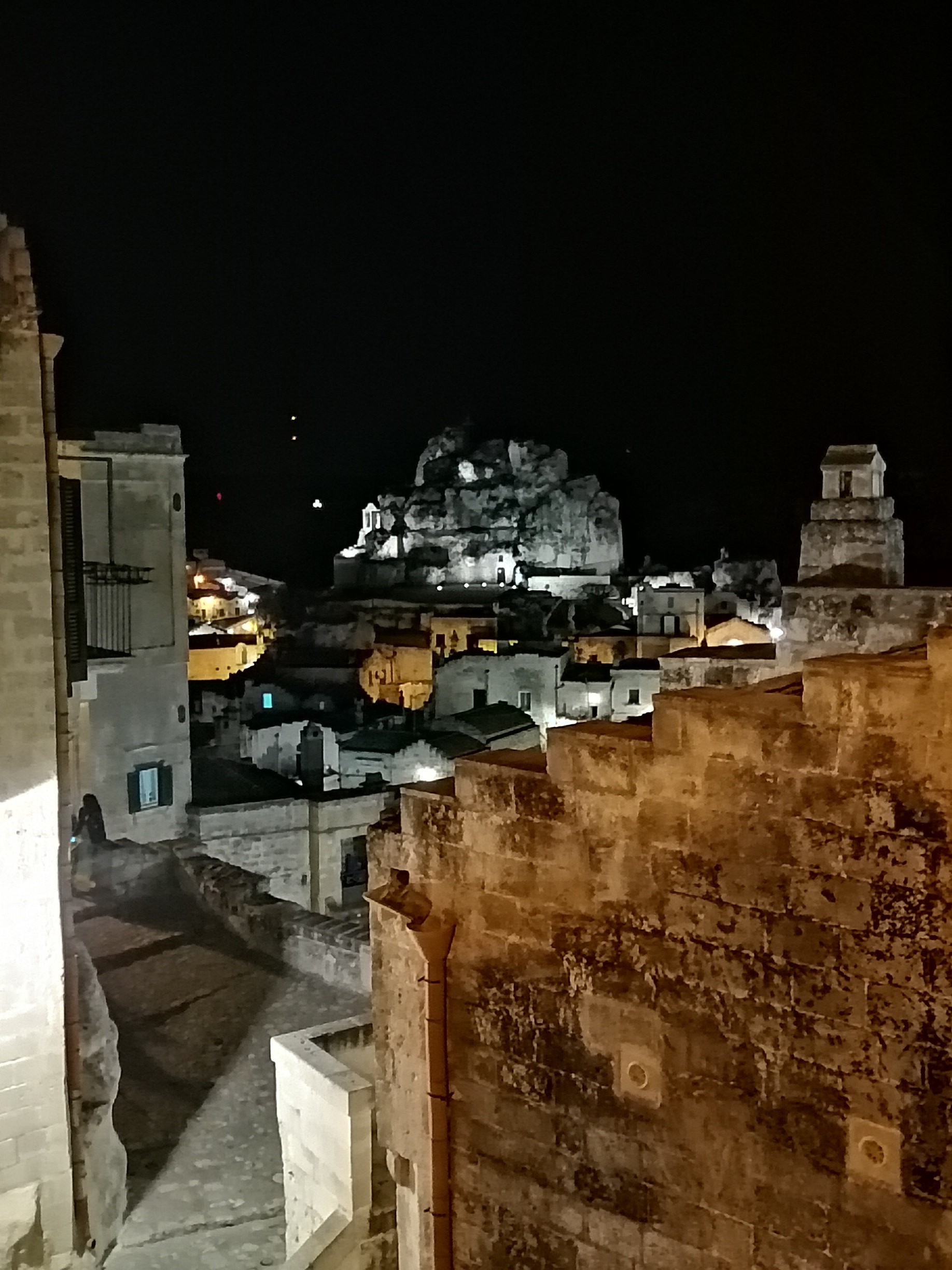 Matera by night sassi